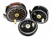 2 Pflueger Medalist Trout And Salmon Fly Reels With Spare Spool