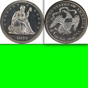 1873 Ngc Pr65 52000 For Ms62 🔴 600 Minted ✅ Closed 3 Seated Quarter ✅ Key 25c
