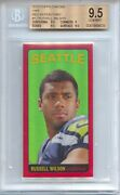 Russell Wilson 2012 Topps Chrome Red Refractor 1965 Rookie 18/75 Bgs 9.5