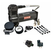 Viair 444c Truck Mount Air Compressor W/ 120 Psi Pressure Switch And Relay - 12v