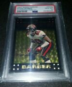 2007 Topps Chrome Ronde Barber Gold Superfractor 1/1 Psa 10 Tampa Bay Buccaneers