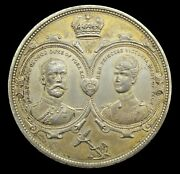 1893 Marriage Of George Duke Of York And Princess Mary 51mm Medal