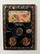2020/21 Upper Deck Marvel Ages Coinage Card 8/12 Iron Man 1
