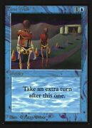 Time Walk Not Tournament Legal Collectorsand039 Edition Mint Rare Card Abugames