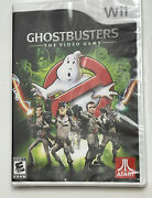 Ghostbusters The Video Game Nintendo Wii, 2009 Brand New Sealed