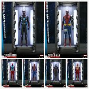 Hot Toys Vgmc016-021 Spider-man Dust Proof Case 2.0 Led W/figure Dispaly Toy