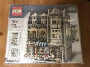 Lego 10185 Creator Green Grocer 2352pieces Modular Building W/box And Manual