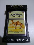 Zippo Zippo Camel 95 Turkish And American Blend Only 200 Ultra Rare