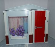 Barbie Totally Real Toy House Mattel 2005 Folding Dollhouse With Working Sounds