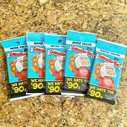 2019 Garbage Pail Kids We Hate The 90's Fat Pack 24c Gpk Topps 5 Pack Lot