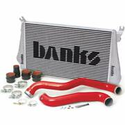 Banks Power Intercooler Upgrade Incl Boost Tubes For 13-16 Chevy / Gmc 2500 3500