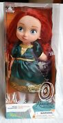 Disney Brave Princess Merida Animator Collection Doll And Horse 16 Approx - New