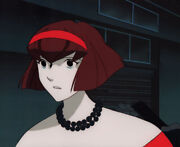 The Big O Anime Production Cel Animation Art Dorothy In Red Dress Giant Robo