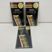 New Lot Of 3 Bible Indexing Tabs Rainbow Color Foil Edged Old And New Testament