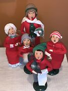 Vintage Byers Choice Lot Of Carolers 1988-1992