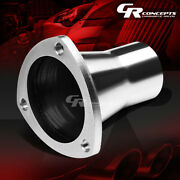 2.5 Od-3.5id Stainless 3-bolt Flange Header Manifold Downpipe Exhaust Reducer