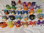 Mcdonalds Plastic Furby Lot Of 30 Action Figures 1998 Happy Meal Toys
