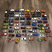 Assorted Lot Of 78 Hot Wheels Mattel Metal Plastic Toy Cars Truck Camino 1980s+