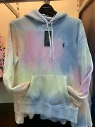 Nwt Polo Big And Tall - Tie Dye Pullover Sweatshirt Hoodie Size 4xlt