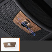 For Ford F-150 2015-2020 Abs Wood Grain Rear Widow Switch Panel Cover Trim S