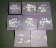 8x Vintage Rare Gold Cpu Intel Ta80486dx250 Not Tested [1634]