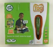 Leap Frog Tag Reading System Learning Tool Vocabulary Phonics Comprehension New