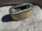 Nos 58 59 60 61 62 Corvette Rochester Fuel Injection Air Filter A77c Style