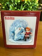 Santa Claus Is Comin'/coming To Town Ornament-heirloom-musical-new-htf