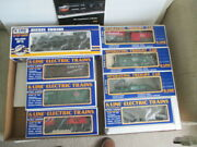 K-line Electric Train Mp-15 Diesel Engine And 7 Cars Nyc Hudson Valley New In Box