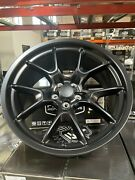 Fits 20 9.5 And 10.5 50th Anniversary Wheels Rims Satin Black Challenger Charger