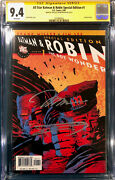 Frank Miller And Jim Lee Signed All Star Batman And Robin 1 Cgc 9.4 Special Edition