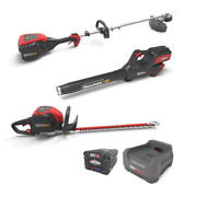 Xd 82-volt Max Cordless Total Yard Bundle With String Trimmer Blower Hedge Tri