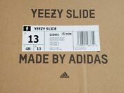 Bnib Sold Out Yeezy Slides Soot Sandals Menand039s 13 Kanye West Adidas G55495
