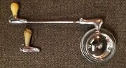 Andnbspvintage Rat Rod Clean Spotlight W/mirror 40and039s 50and039s With Extra Handle. Untested.