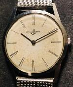 Ulysse Nardin Antique Thin Hand Winding Menand039s Watch Used Excellent Rare