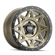 6x135 Wheels 20 Inch 4 Rims Theory 9305 Dirty Life 20x9 0mm Matte Gold And Black