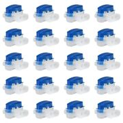 30x40 Pack Cable Connector Waterproof Connector Crimps For Outdoor Garden F1d6