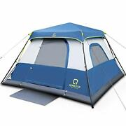 Tents, 4/6/8/10 Person 60 Seconds Set Up Camping Tent, Waterproof Pop Up Tent