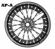 Royal Enfield Vintage-2 Alloy Wheel Kit 19and039and039-18 Disc -drum