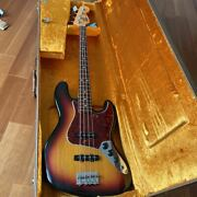 [reference Video Available] Fender Usa American Vintage Jazz Bass 62 3knob