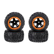 30x4pcs Tires And Wheels Rims Remote Control Cars Accessories For Hbx 16889 1/16