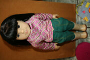 American Girl Doll Ivy Ling Nib, No Book, Partial Accessories
