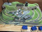N-scale 2and039x4and039 Custom High Sierra Project Layout Model Railroad Works