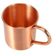 20xpure Copper Moscow Mule Mug Solid Smooth Without Inside Liner For Cocktail