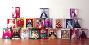 Holiday Barbie Doll 1988 - 2007 Lot 20 Happy Holidays Christmas Collection R