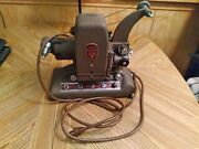Antique Bell And Howell Filmo 151a Picture Master 8mm Projector Circa 1943 W/ Case