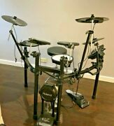 Roland Td-11k Compact V-drum Kit With Mesh Snare - Fender 5g Amplifier Included