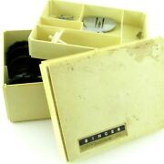 Singer Golden Touch And Sew Model 640 Accessories Kit Attachments With Case Cams
