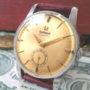 Omega Used Menand039s Watch Antique Gold Smoseco Self-winding Stainless Steel
