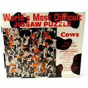 Worldand039s Most Difficult Jigsaw Puzzle Cows